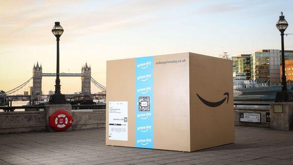 为Prime Day造势,全球多城市惊现亚马逊巨大盒子