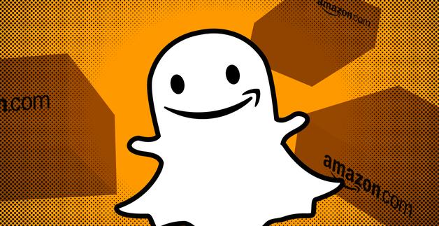 Snapchat扫一扫,就可以在亚马逊上购物