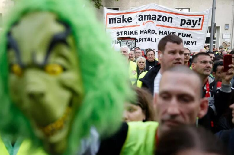 Prime Day期间,亚马逊德国仓库的数千名员工将进行罢工